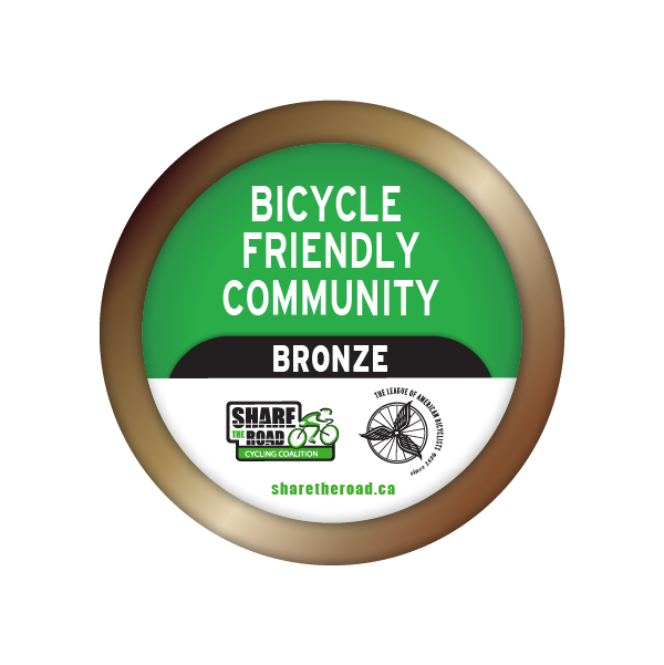 Bronze Bicycle Friendly Community Badge