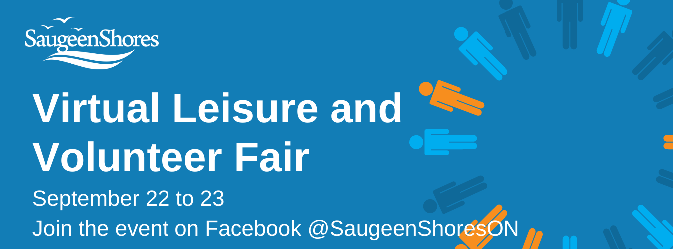 Leisure and Volunteer Fair. Join us September 22 to 23